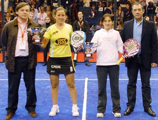 Iciar Montes y Patty Llaguno ganan el Master Pádel Pro Tour 2010