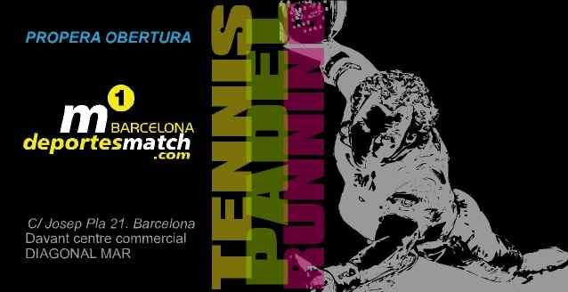 Inauguración de la tienda Deportesmatch Barcelona