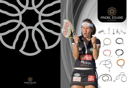 JIM SPORTS distriuirá en españa la firma de joyería Padel d'luxe