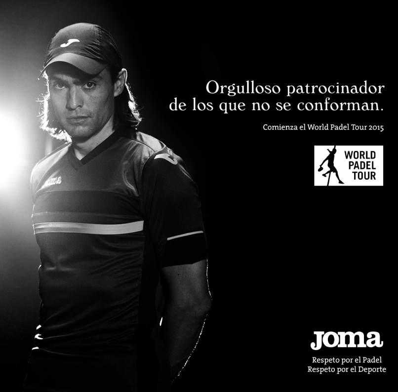 Joma, Orgulloso patrocinador de los que no se conforman