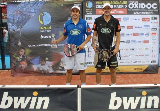 Juan - Bela y Navarro vencen en Madrid