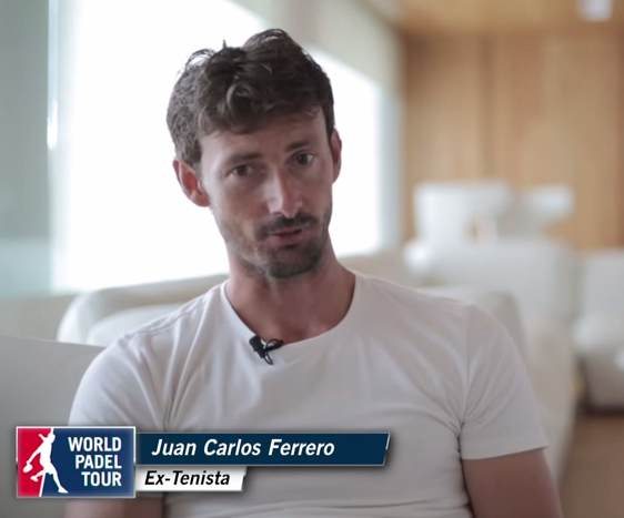Juan Carlos Ferrero ex numero 1 de tenis se pasa al padel