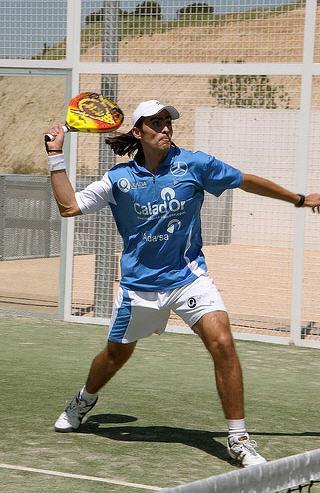 Juani Mieres campeon de padel absoluto de espana con dunlop padel