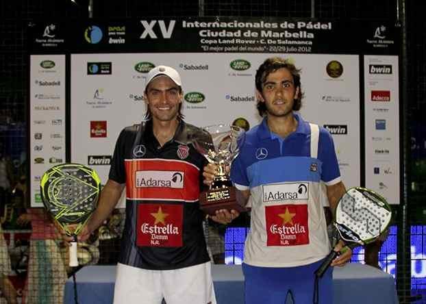 Juani Mieres y Pablo Lima ganan el PPT de Marbella