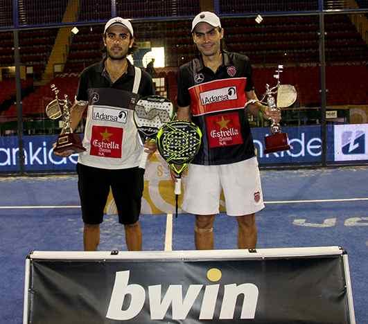 Juani Mieres y Pablo Lima ganan el PPT de Sevilla