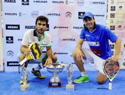 Juani Mieres y Pablo Lima sorprenden en la final del Estrella Damm Castellón Open