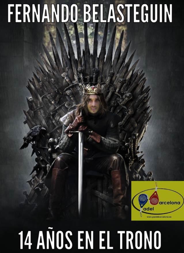 Juego de tronos Fernando Belasteguin Master