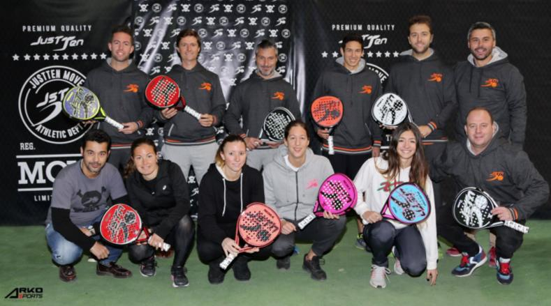 Just Ten Padel presenta su Team 2017
