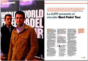 La AJPP presenta el World Padel TourLa AJPP presenta el World Pádel TourLa AJPP presenta el World Padel Tour para 2013