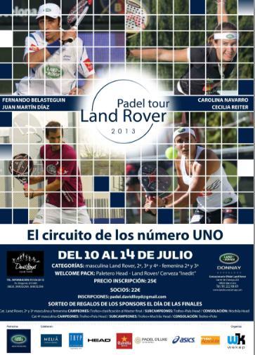 Land Rover Padel Tour en el David Lloyd