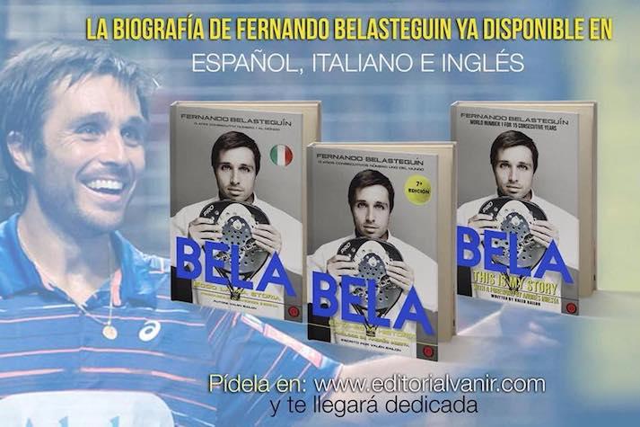 El libro de Fernando Belasteguín amplia fronteras