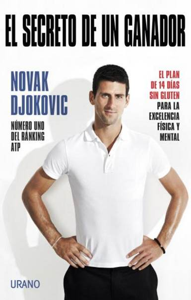 Libro Djokivic El secreto de un ganador