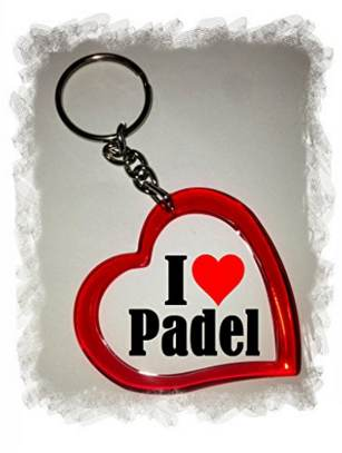 Llavero I love padel