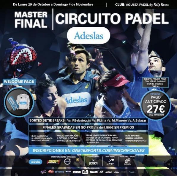 MASTER FINAL CIRCUITO ADESLAS