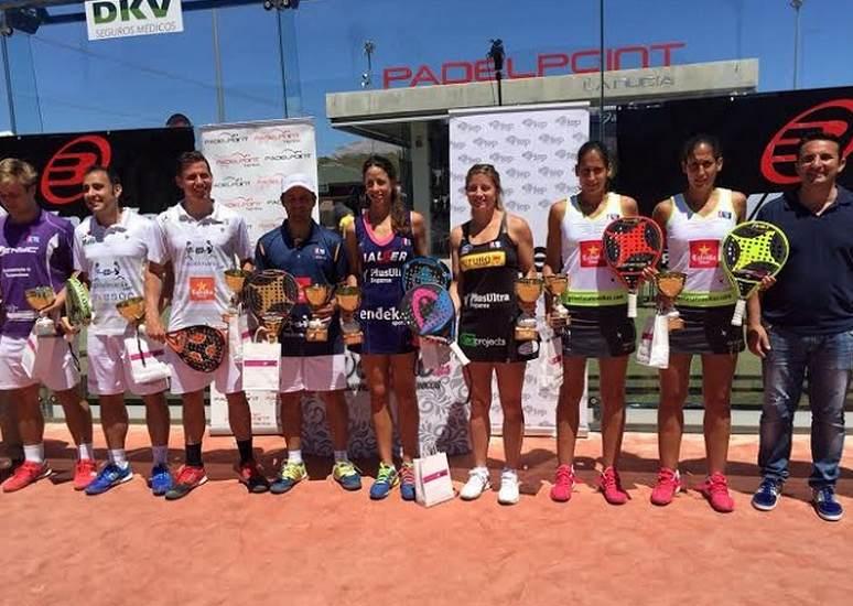 Marrero-Salazar y Díaz-Navarro Campeones/as de España Absoluto de pádel 2015