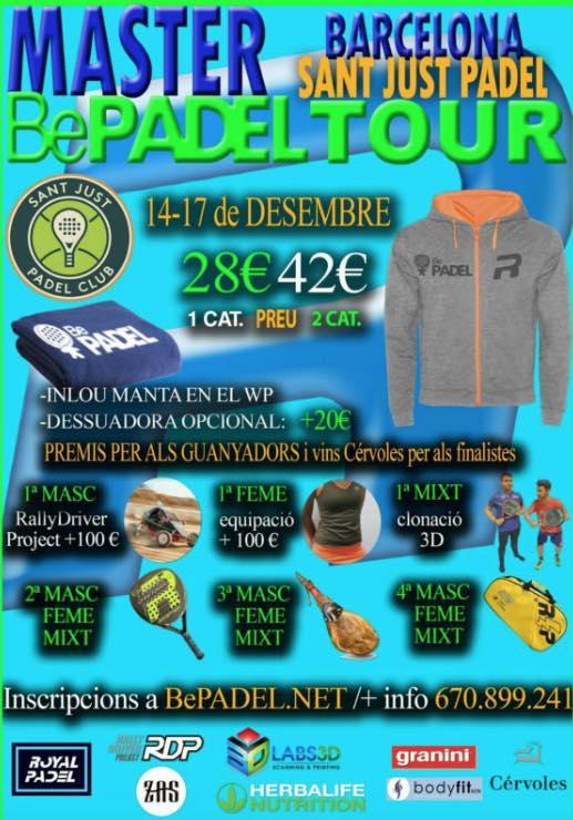 Master BePadel tour en el Sant Just Padel Club