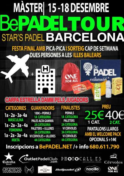 Master Bepadel Tour Barcelona 2016