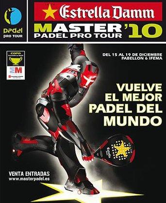 finales del Master pádel Pro Tour 2010