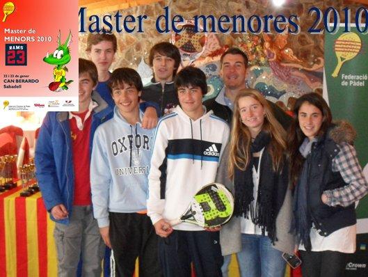 Master de pádel de menores 2010