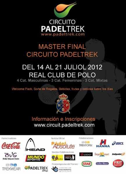 Master final Circuito PadelTrek en Polo de Barcelona