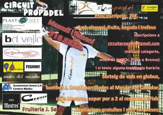 Master final del Circuit ProPadel
