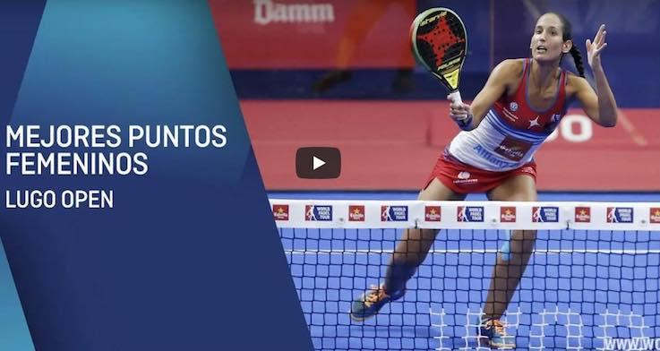 Mejores puntos femeninos del Lugo Open