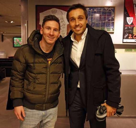 Messi y Fernando Belasteguin