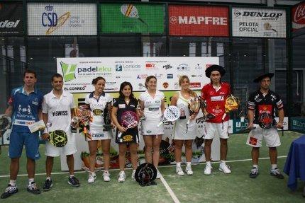 Mieres-Díaz y Montes-Llaguno Campeones de España de Pádel