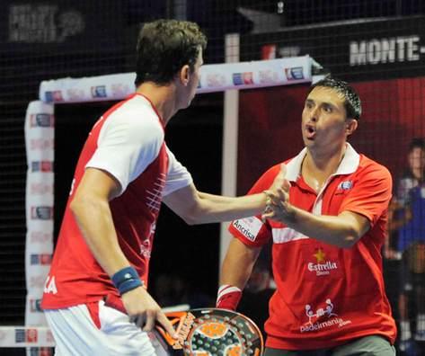 Navarro-Díaz y Bela-Lima a la final final del Monte-Carlo Padel Master