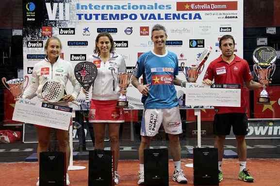 Navarro-Reiter y Lamperti-Grabiel ganan en PPT de Valencia