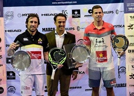 Navarro - Grabiel y Marrero - Tenorio vencen en el WPT Estrella Damm Valencia Open 2014