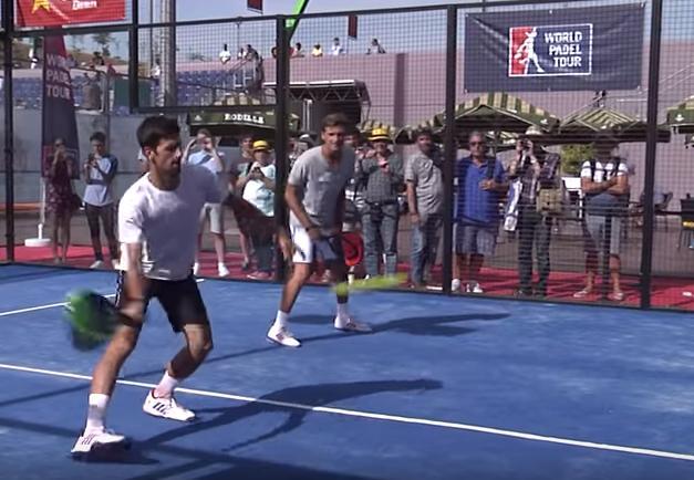 Novak Djokovic contra Paquito Navarro y Sanyo Gutiérrez