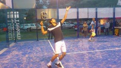 Novak Djokovic tambien juega al padel