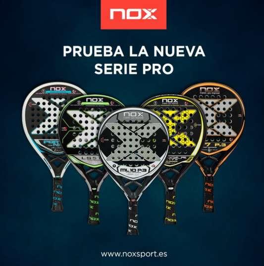 Nueva colección de palas de pádel NOX
