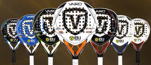 Nueva coleccion 2011 de palas de padel Vairo 8.1 y 7.1