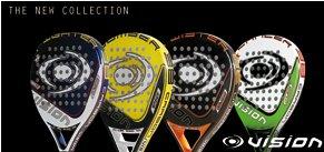 Nueva colección 2011 de padel Vision