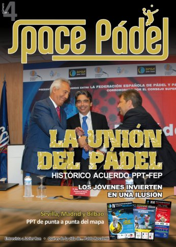 Numero 4 de la Revista Space Padel
