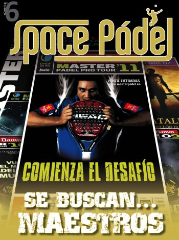 Numero 6 de la Revista Space Padel