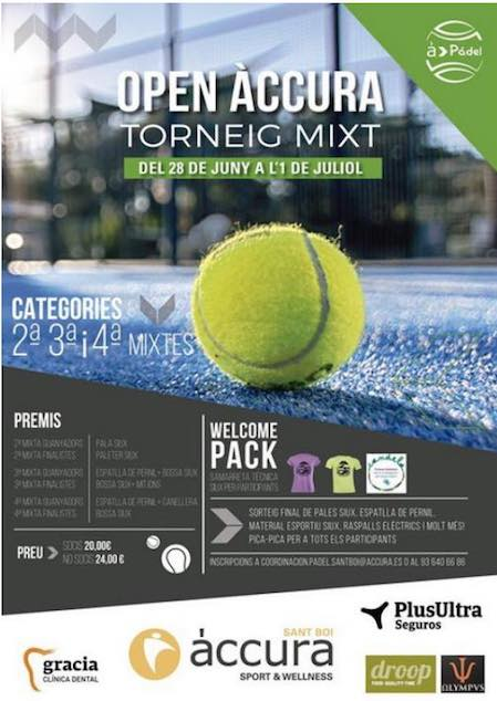 Open Accura Padel Mixt