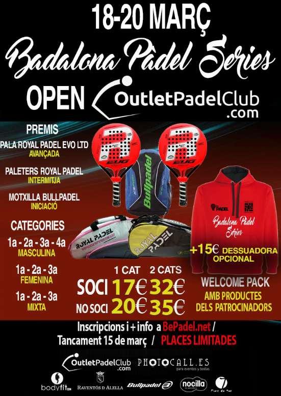 Open Badalona Padel series