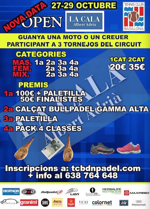 Open La Cala Albert Adria