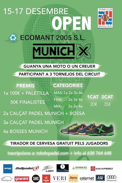 Open de Padel ECOMANT By Munich