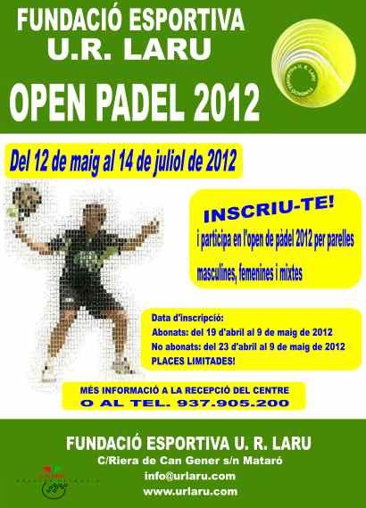 Open Padel 2012 UR Laru de Mataro