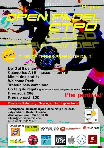 Open Padel CTPD en Premia de Dalt