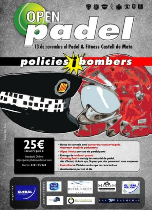 Open Pádel Policias y Bomberos