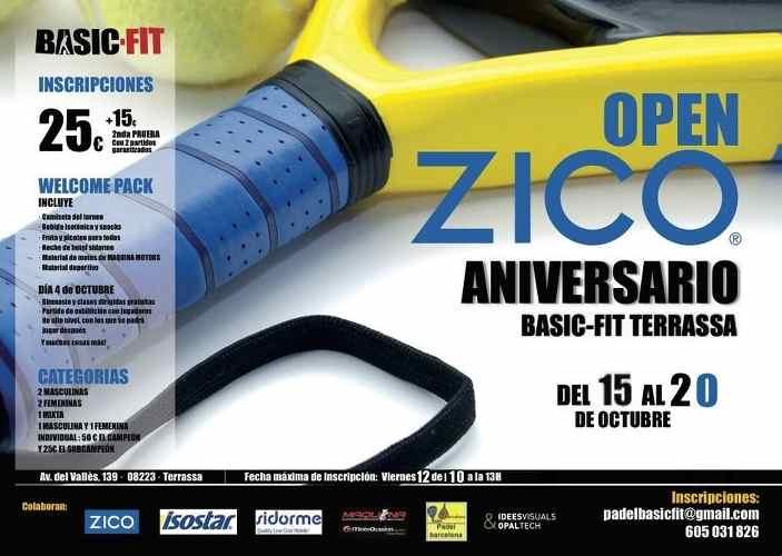 Open Zico Aniversario Basic-Fit Terrassa