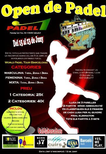 Open de Padel Padel1