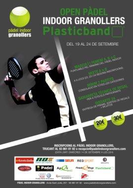 Open padel Indoor Granollers Plasticband