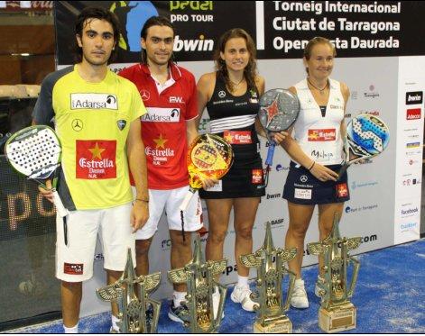 Pablo Lima- Juani Mieres y Carolina Navarro- Cecilia Reiter ganan el PPT de Tarragona