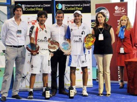 Pablo Lima y Juani Mieres ganana el PPT de Ciudad Real